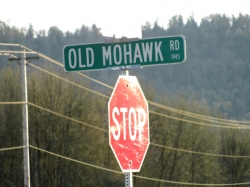 old-mohawk-road-lane-county-oregon-traffic-sign